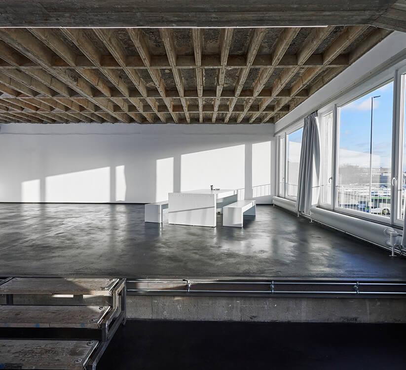 STUDIO 2 - raw studios. with southwest facing windows