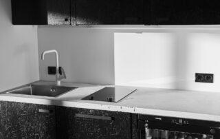 concrete kitchen top