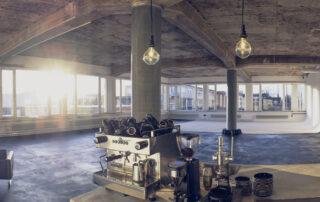 STUDIO 1 - raw studios. Panorama View from Kitchen