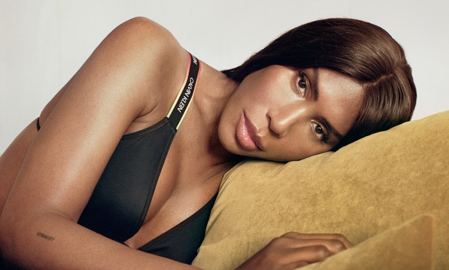 DJ Honey Dijon for Calvin Klein 2021 Pride Campaign photographed by raw studios.