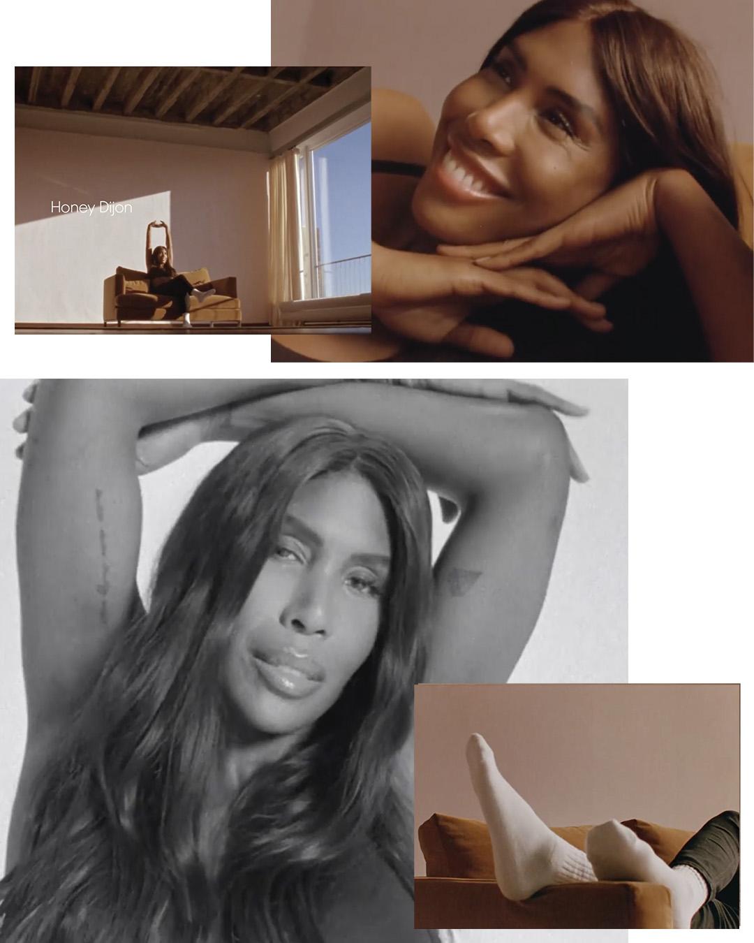 DJ Honey Dijon for Calvin Klein 2021 Pride Campaign photographed by raw studios. by Matt Lambert