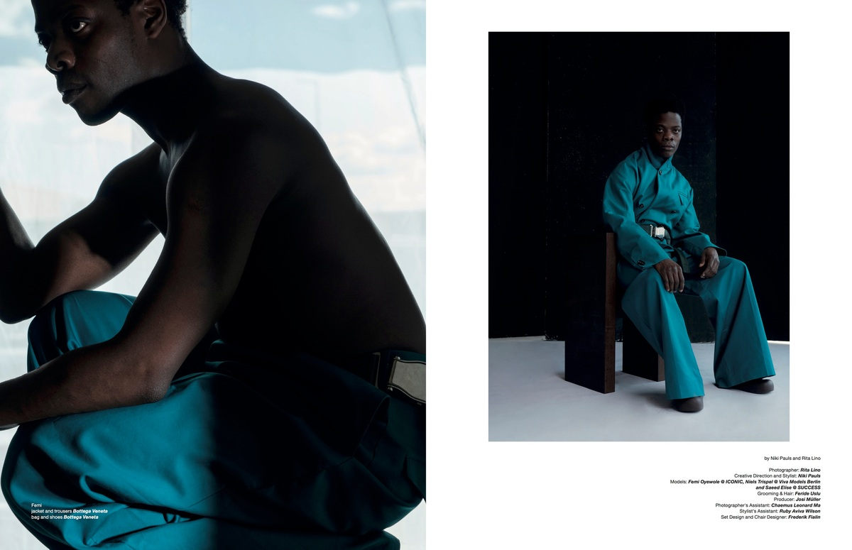 photographed by Rita LINO with styling plus creative direction by Niki PAULS